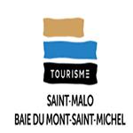 Logo du site partenaire office du tourisme de Saint Malo baie du mont Saint-Michel