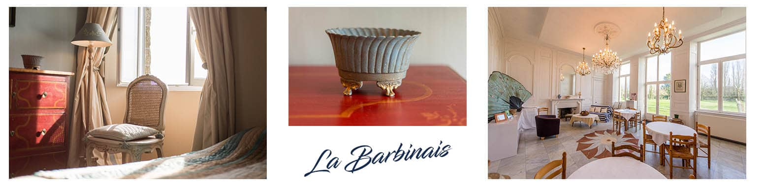 B&B-Vermietung Bretagne La Barbinais bed and breakfast saint malo großes Wohnzimmer
