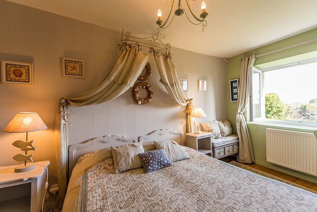casa padronale B&B Affitto Bretagna La Barbinais bed and breakfast saint malo saule vue parc