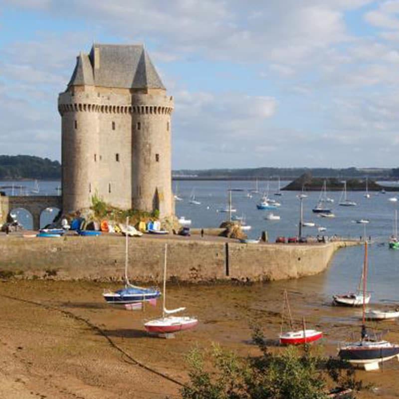 Saint malo Musée international Long Cours Cap Hornier Solidor Staudammturm rance